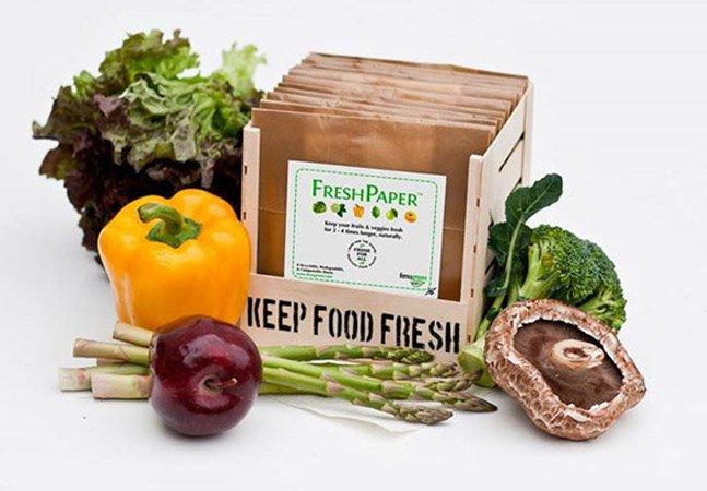 Jovem empreendedora cria papel especial que aumenta em até 4 vezes a durabilidade dos alimentos