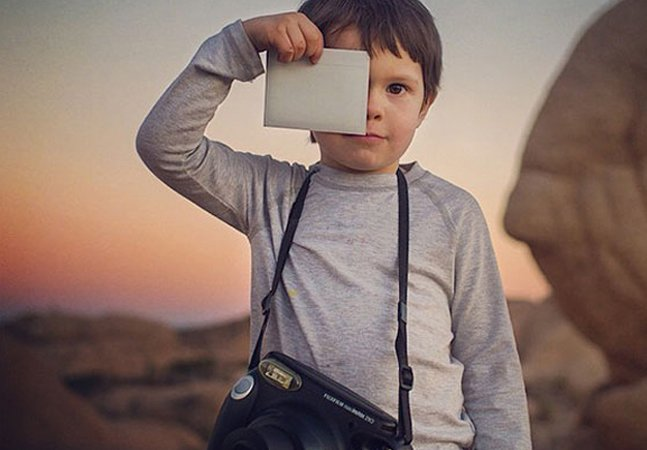 Este menino de 4 anos tem um Instagram melhor do que o seu