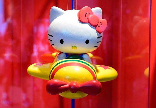 Hello Kitty ganha exposição em São Paulo em homenagem aos seus 40 anos