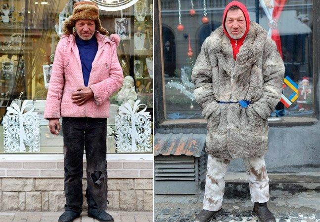 Conheça o morador de rua mais estiloso de todos os tempos