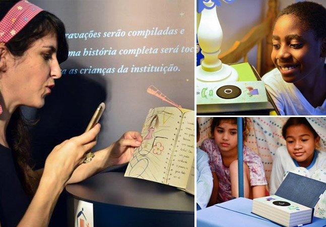 Instituição usa o Whatsapp pra criar forma inovadora de contar histórias de ninar para crianças órfãs