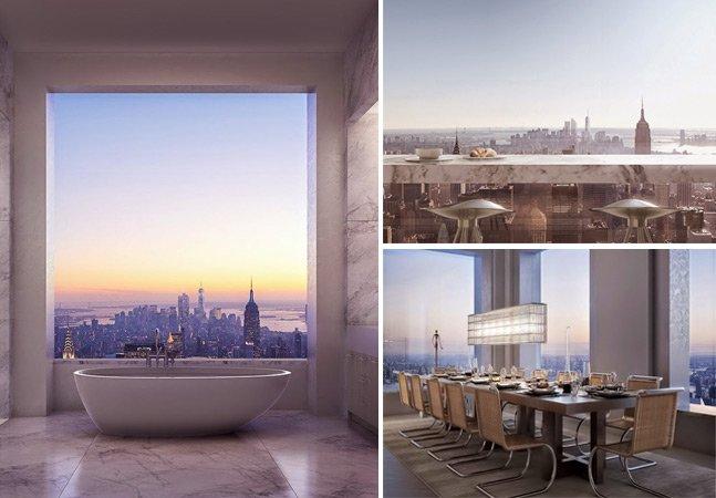 Como é viver num prédio cujos apartamentos chegam a custar US$83 milhões