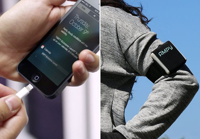Dispositivo usa energia gerada pelo corpo durante exercícios físicos para recarregar gadgets