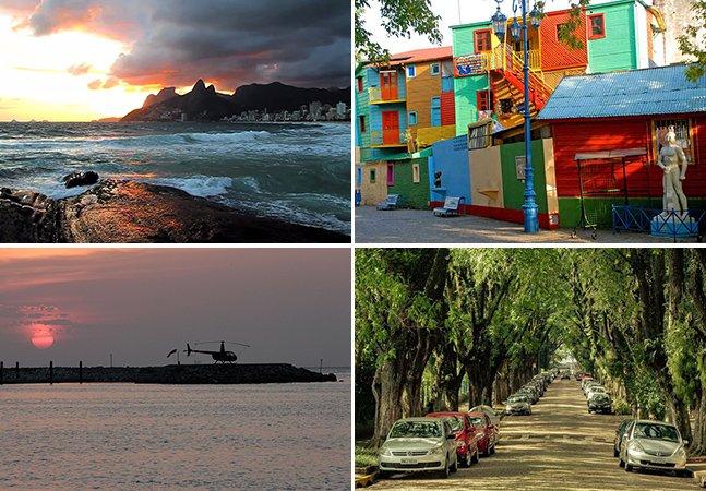 10 destinos no Brasil e América do Sul com diárias a partir de R$ 59 para curtir nesse fim de ano