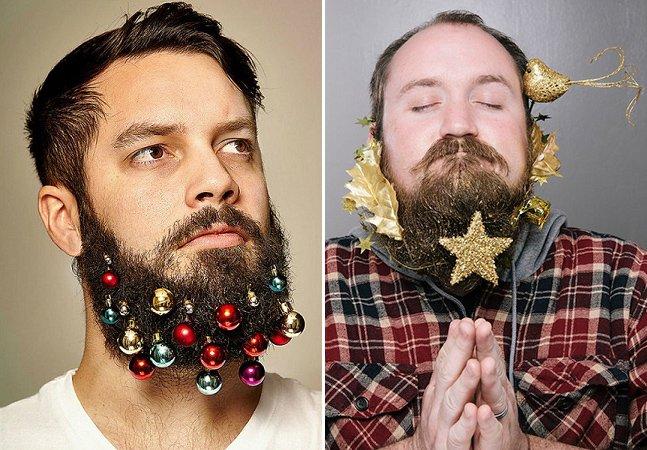 Site faz sucesso ao vender enfeites de Natal para barbas