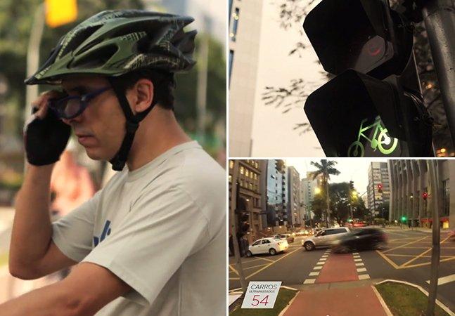 Bike ultrapassa 127 carros em um trajeto de 4km em SP