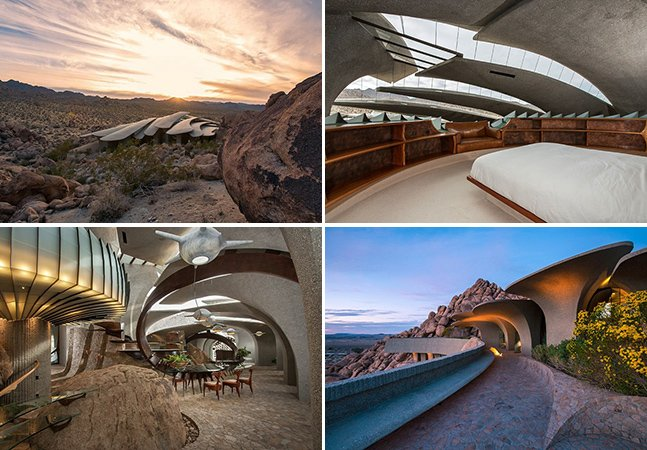 Arquiteto desenvolve casa inovadora em meio ao deserto da Califórnia