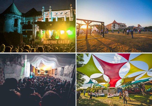 Conheça o festival de música que rola nos jardins de um castelo na Transilvânia