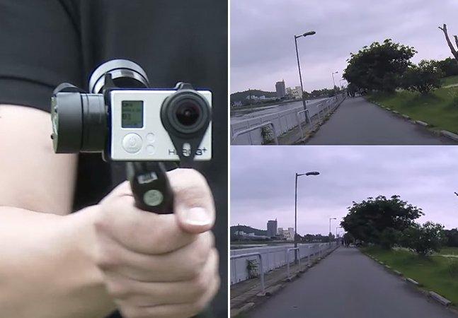 Estabilizador portátil para GoPro resolve seus problemas de vídeos tremidos