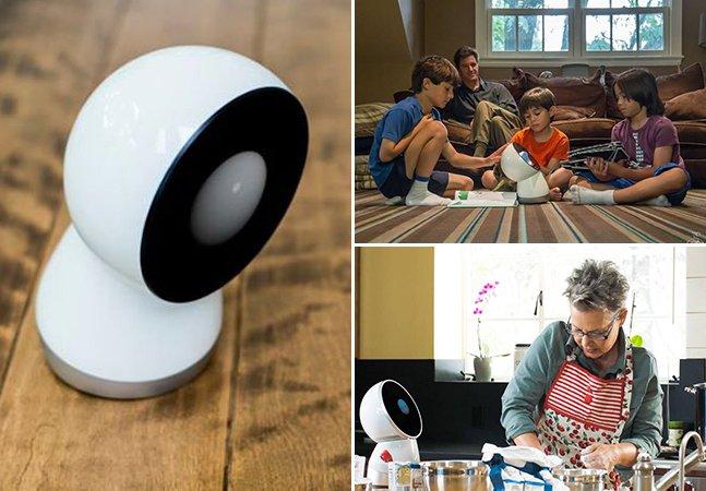 Robô simpático promete ser o primeiro assistente pessoal de famílias