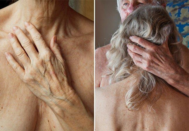 Fotógrafa de 74 anos quebra tabu e se registra nua em série inspiradora