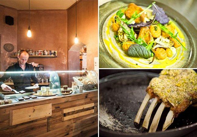 Conheça o excêntrico restaurante em Berlim que serve refeições inspiradas em hábitos alimentares da idade da pedra
