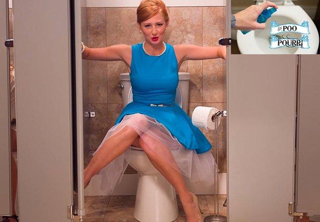 Líquido inovador promete acabar com a vergonha de ir ao banheiro