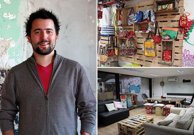 Empreendedor abre empresa milionária que cria produtos verdes a partir de materiais difíceis de reciclar