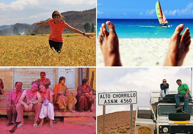 Site inspira pessoas que querem viajar pelo mundo mas não têm coragem