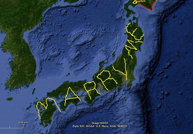 O pedido de casamento mais criativo dos últimos tempos foi feito por um viajante
