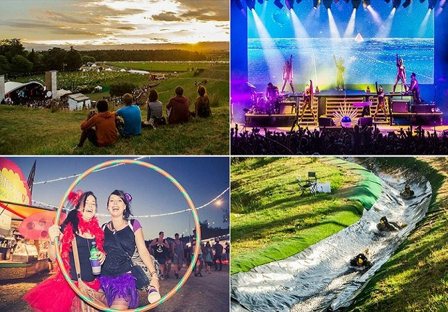 Nova Zelândia faz festival de música em vinícola para comemorar o primeiro amanhecer de 2015