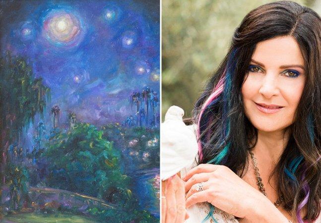 Esta artista enxerga 100 vezes mais cores do que uma pessoa normal