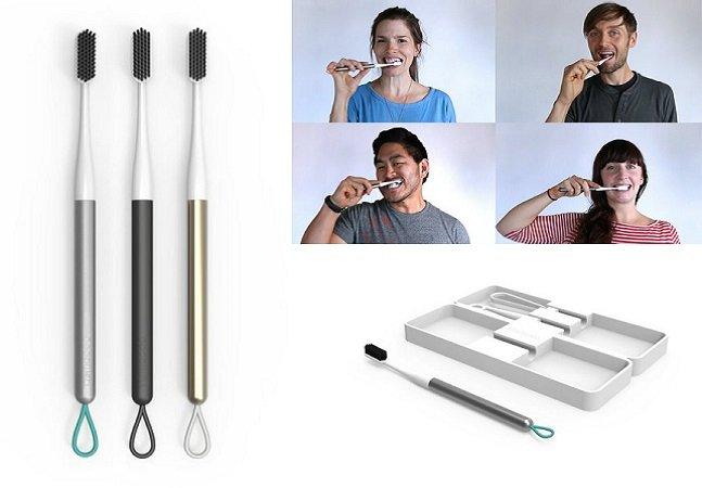 Conheça a escova de dente inovadora e sustentável que não precisa ser trocada