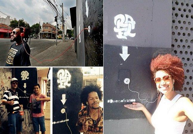 Rapper espalha dispositivos contendo seu álbum pelas ruas para que qualquer um possa ouvir