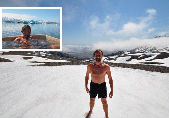 A impressionante resistência do homem que escalou o Everest usando somente shorts