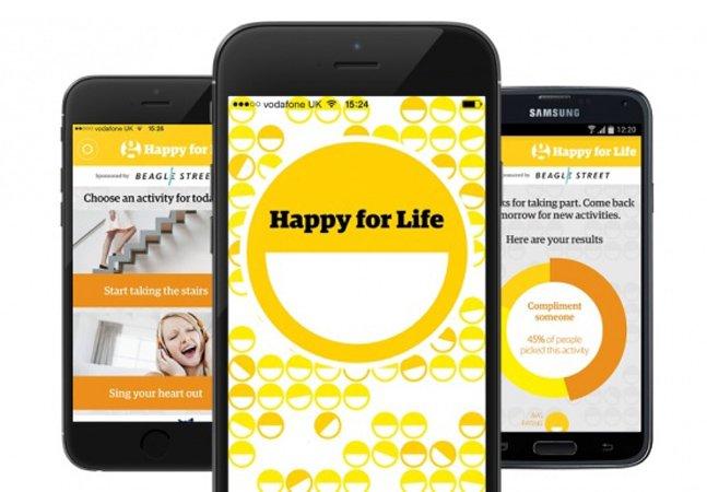 App promete ajudar você a ter dias mais felizes