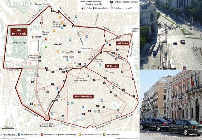Madrid vai proibir circulação de carros no centro da cidade a partir de janeiro de 2015