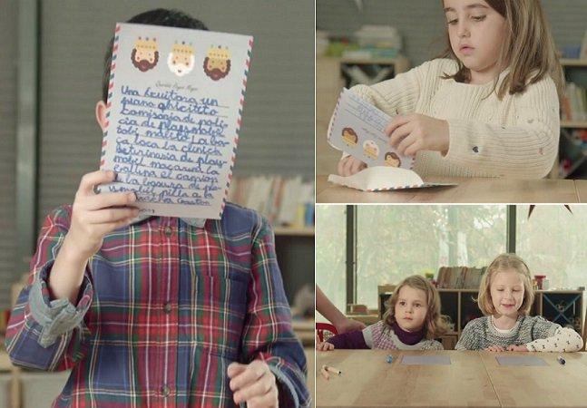 Campanha emocionante mostra o que as crianças querem de verdade no Natal