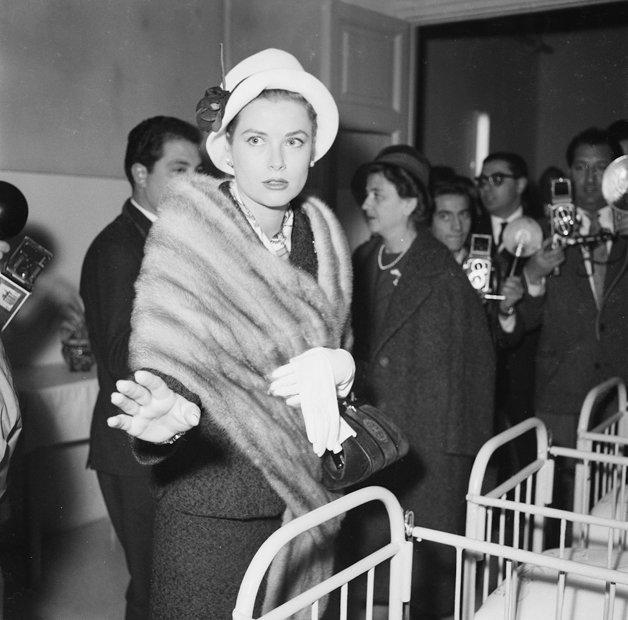 Princess Grace of Monaco, Rome, 1957.