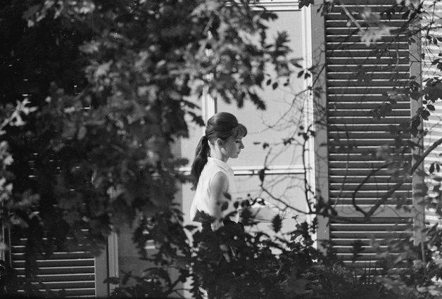 Audrey Hepburn, Rome, 1961.