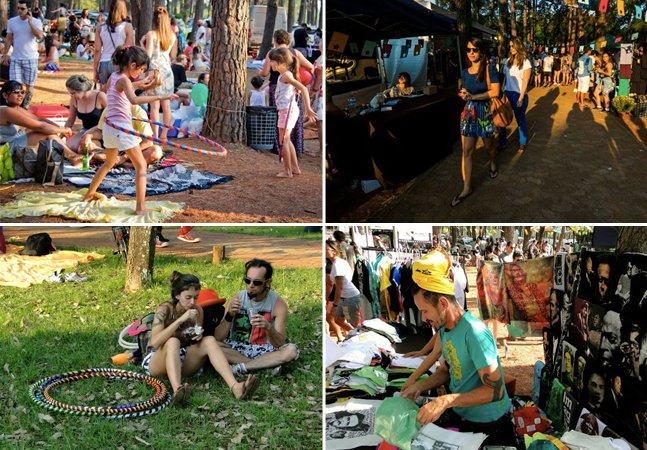 Conheça o evento brasileiro que é um misto de mercadinho descolado e sunset party