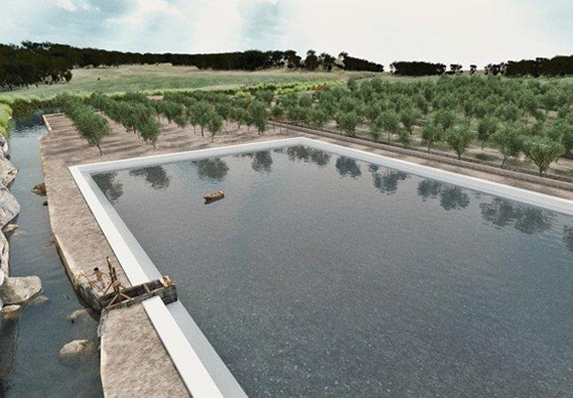 Antiga represa Romana capaz de armazenar 4 milhões de litros de água é descoberto em obras de metrô