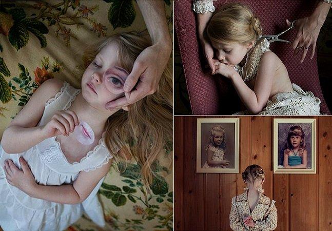Fotógrafa cria bela série para documentar a identidade de sua filha de 4 anos