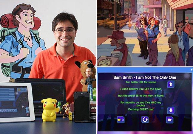 Empresa criada por jovem brasileiro desenvolve games que ensinam inglês de forma divertida