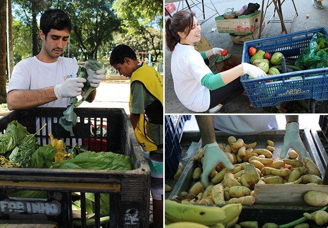 Eles distribuem alimentos que iriam para o lixo e conseguem ajudar a alimentar mais de 1,6 milhão de brasileiros