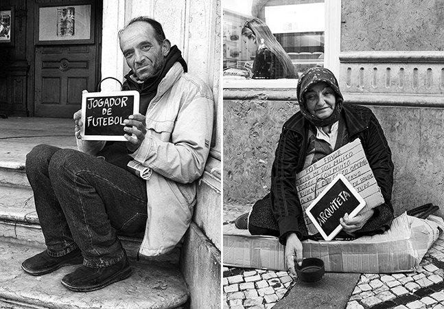 Projeto retrata moradores de rua e seus sonhos nunca realizados