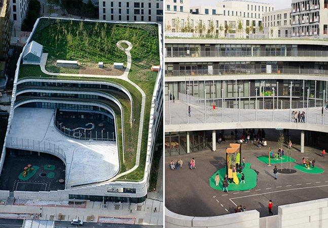 A escola verde em Paris que incentiva a biodiversidade e sustentabilidade
