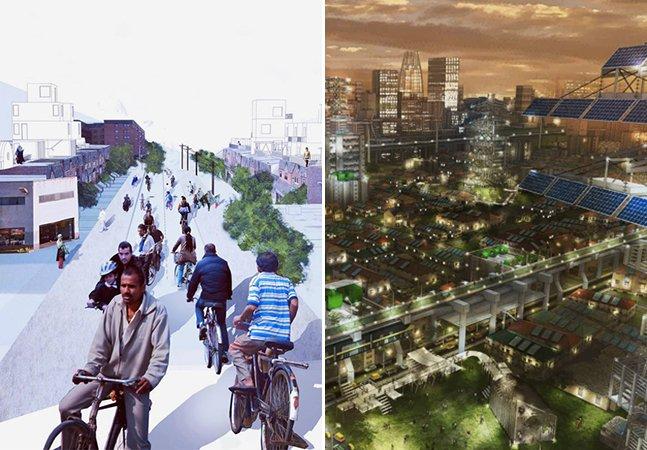 Arquitetos pensam em soluções urbanas para melhorar as 6 cidades que mais crescem no mundo