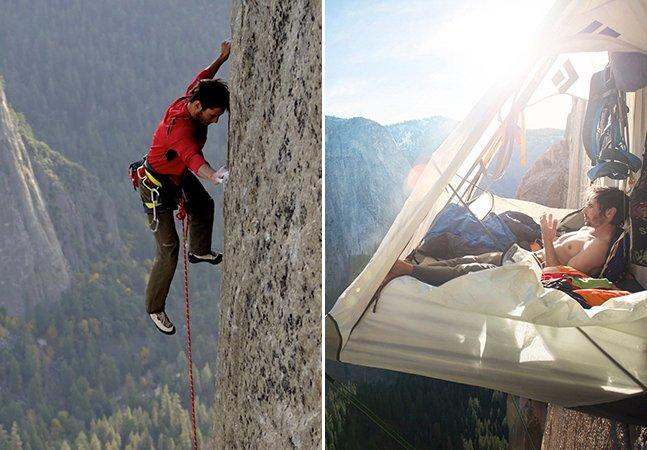 Alpinistas estão fazendo história ao escalar uma das rotas mais perigosas do mundo sem equipamentos