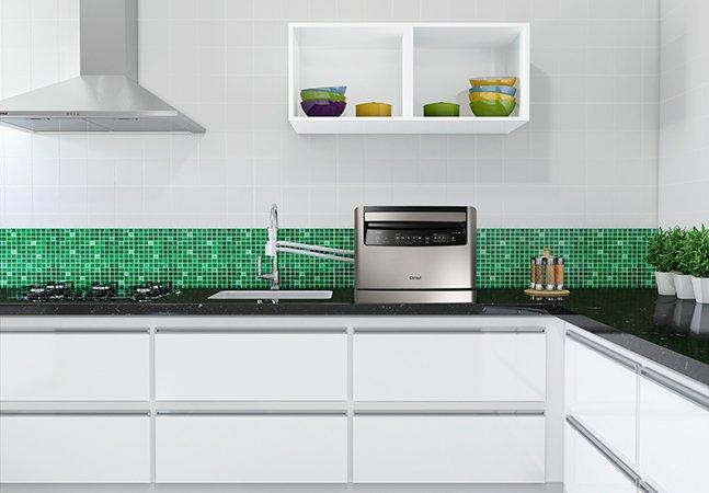 Consul lança lava-louças que pode ser instalada diretamente na torneira da cozinha