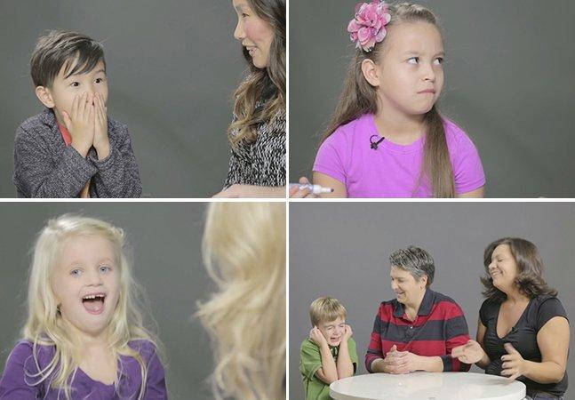 Vídeo documenta o que acontece quando pais resolvem falar sobre sexo com os filhos pela primeira vez
