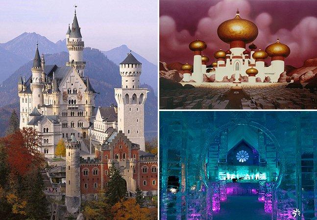 8 maravilhas arquitetônicas pelo mundo que inspiraram filmes da Disney