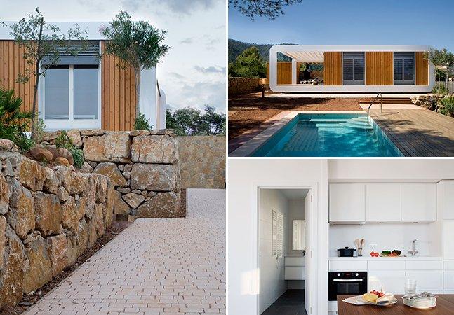 A casa inteligente e sustentável controlada por smartphone que foi construída em 10 semanas