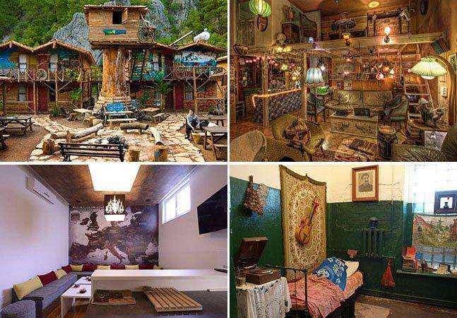 20 hostels estilosos na Europa para se hospedar gastando pouco