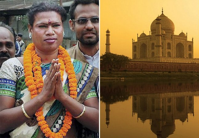 Cidade na Índia faz história ao eleger transexual como prefeita
