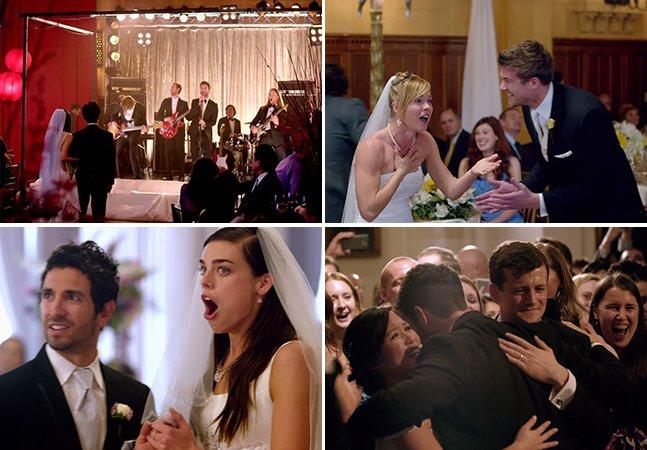 Maroon 5 invade casamentos e choca noivos e convidados em seu novo clipe