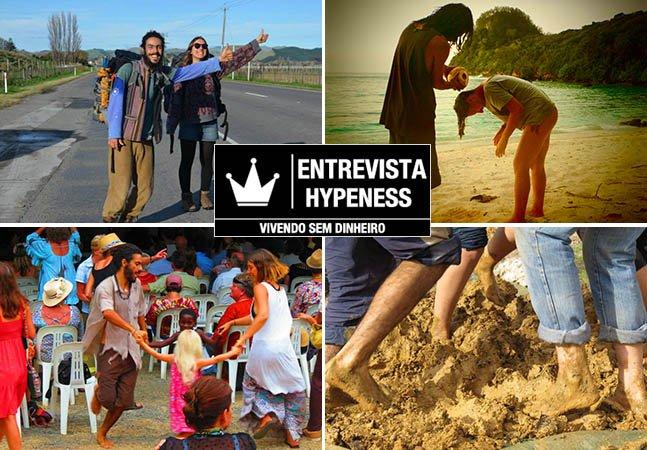 Entrevista Hypeness: o casal brasileiro que está viajando o mundo sem dinheiro