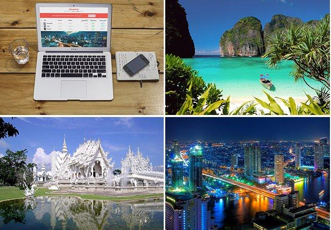 Site reúne as melhores cidades do mundo para quem quer ser nômade digital