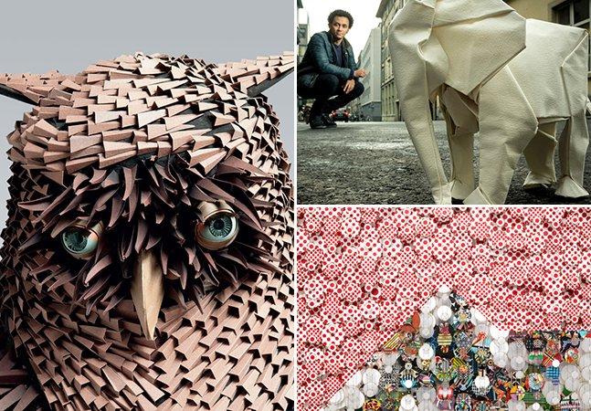 6 projetos incríveis feitos somente com folhas de papel