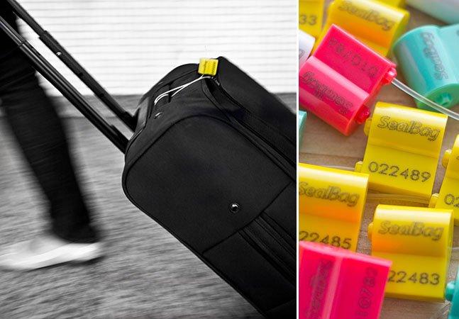 Conheça a solução mais simples para ter certeza que suas malas não foram abertas por ninguém